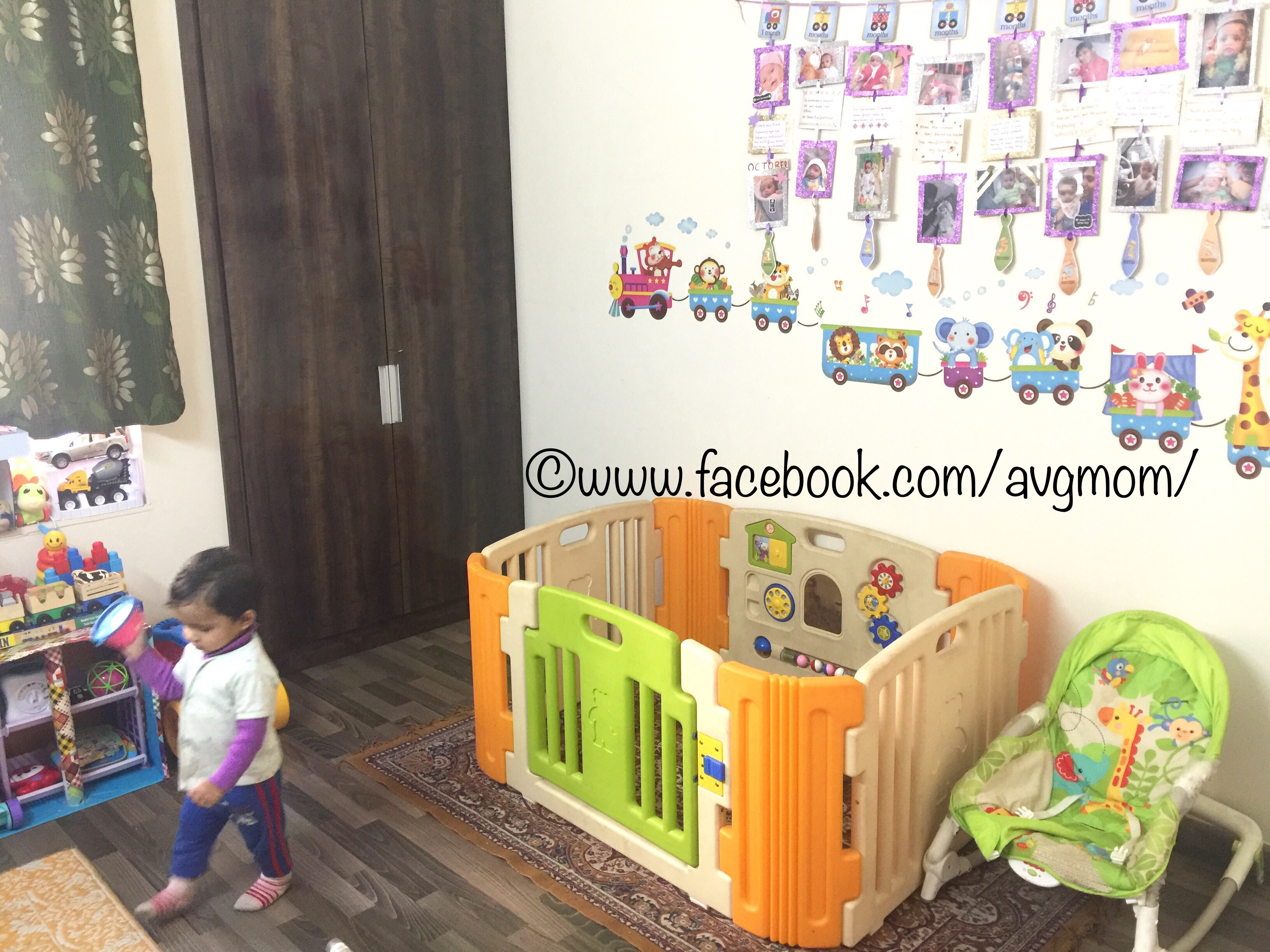10 DIY ideas to decorate a toddler's play room