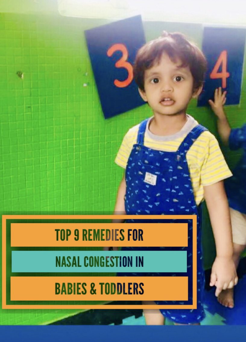 Remedies for Nasal Congestion In Babies & Toddlers