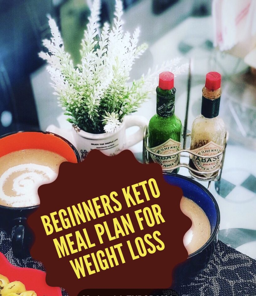 Beginners Keto Meal Plan for Weight Loss