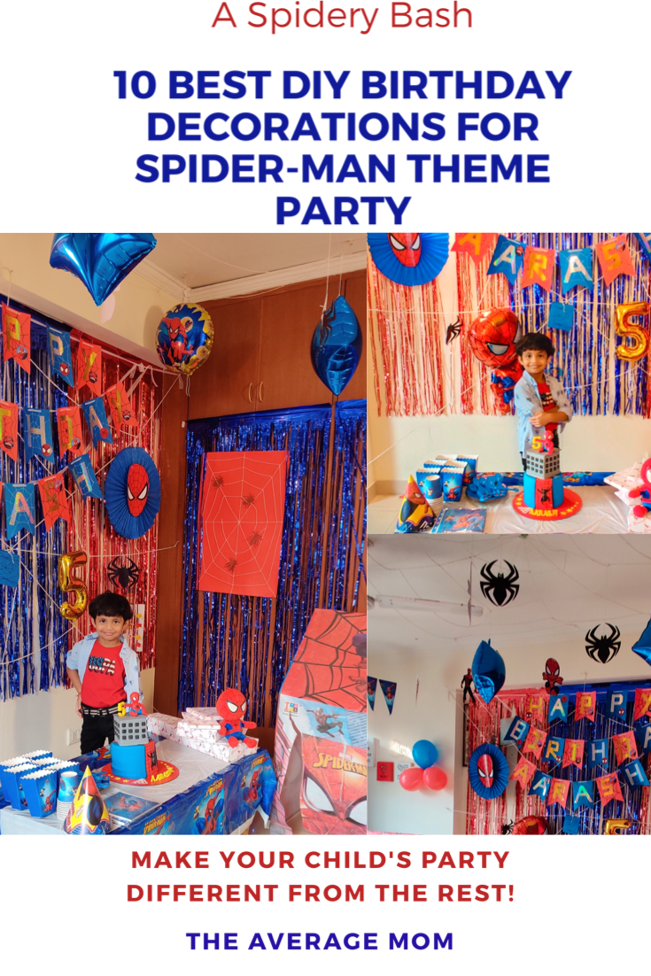 10 Best DIY Birthday Decorations for Spider-Man Theme Party