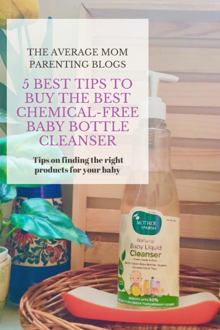 5 Best tips to buy the best chemical-free bottle cleanser
